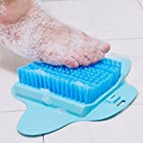 Dayalu Foot Massager Cleaner, Shower Slippers Foot Scrub Brush To Keep Foot Cleaner, Multi Colors