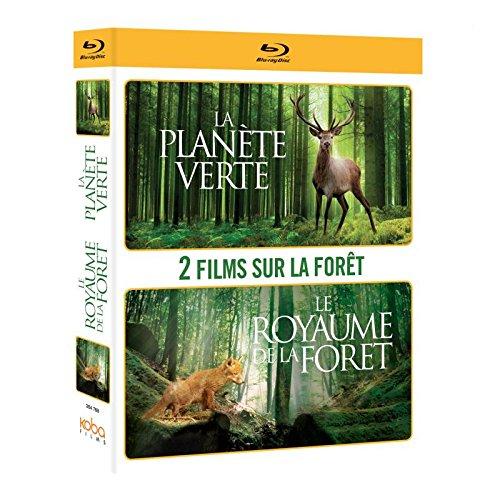 COFFRET LA FORÊT: PLANÈTE VERTE + LE ROYAUME DE LA FORÊT [Blu-ray]