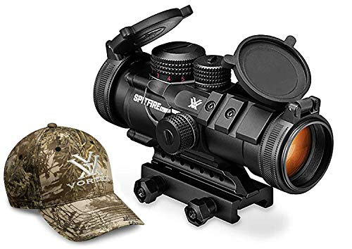 Vortex Optics Spitfire 3X Prism Scope - EBR-556B Reticle (MOA) with Vortex...