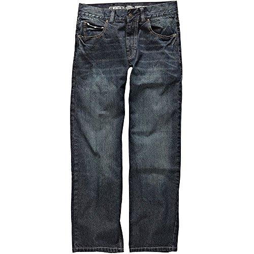 Dickies Boston Jeans WD1000 - Pantalones de trabajo (lavado a piedra) 54 azul vaquero