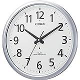 CITIZEN シチズン 掛け時計 電波時計 防水 防塵 スペイシーアクア493 シルバー 8MY493-019