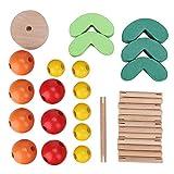 Juguete de equilibrio Bloques de construcción coloridos Coordinación Desarrollo temprano Juguetes Rompecabezas Juguete Cumpleaños Regalo de Navidad para niños Niño
