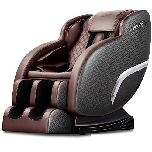RUIXFMC Innovativ Massagesessel mit Wärmefunktion, Shiatsu-Massage, Körperscan, Fernsehsessel mit Rollen, elektrischer Relaxsessel, Stressless Sessel mit Verstellbarer Liegeposition Geschenk, B