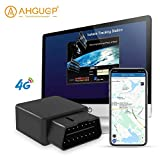 GPS Tracker for Vehicles AHGUEP OBD 4G Real Time Tracking Device | Auto Health Diagnostics | Parking Locator &...