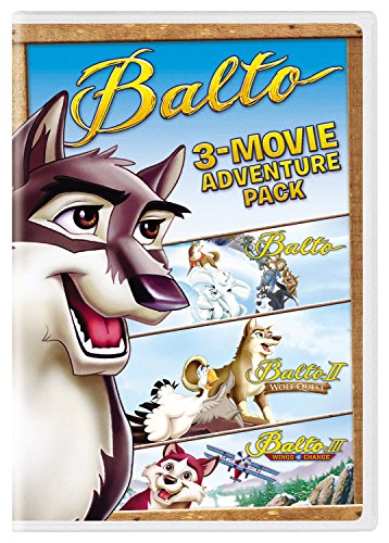 Balto 3-Movie Adventure Pack
