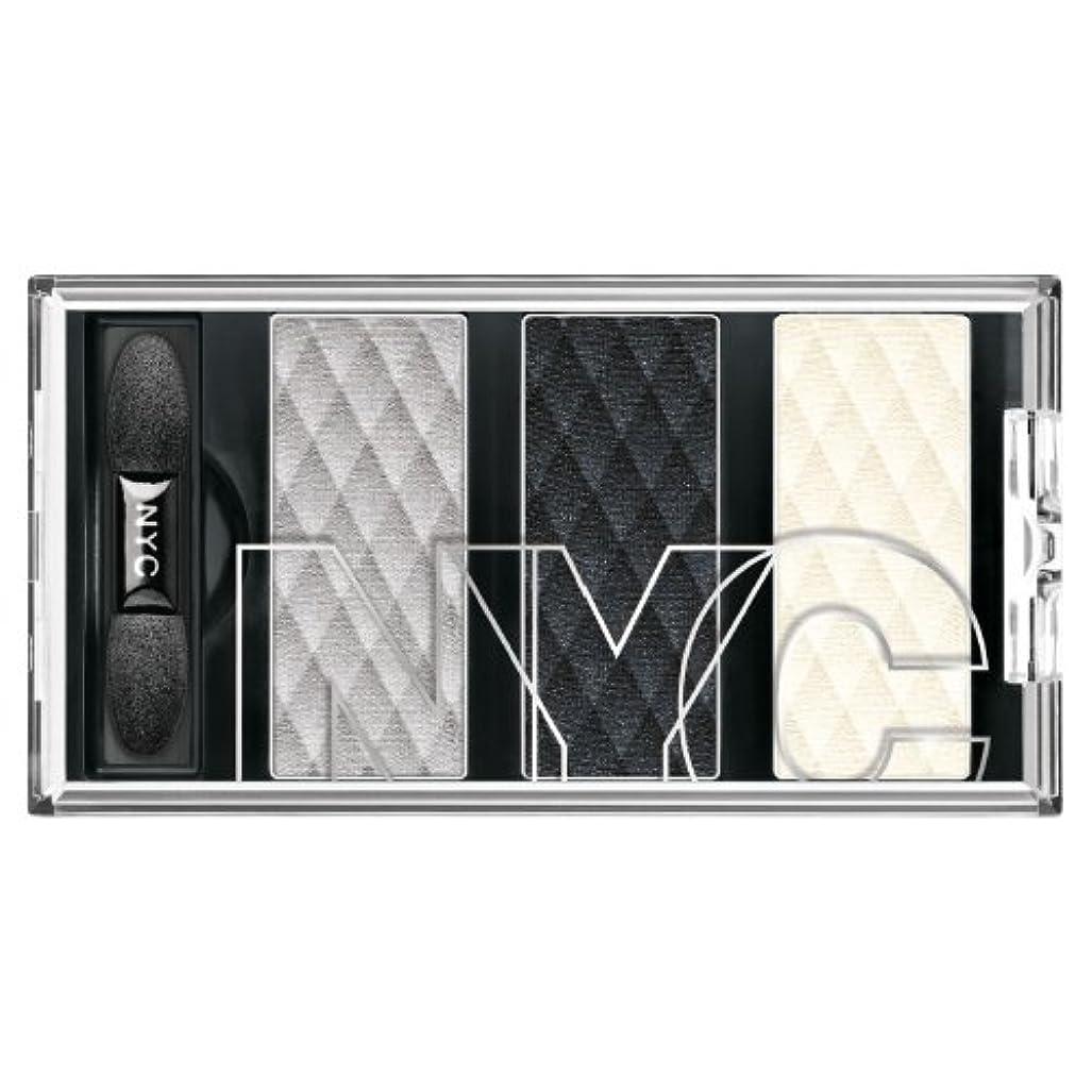 信頼性原油市町村NYC HD Metro Trio Eyeshadow - Skyrise Steel (並行輸入品)