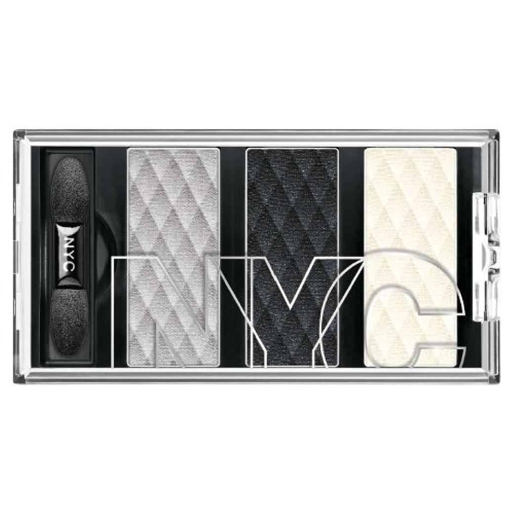 告白するベックス連隊(6 Pack) NYC HD Metro Trio Eyeshadow - Skyrise Steel (並行輸入品)