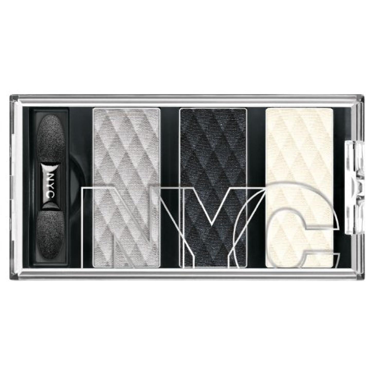 流用する誰の特定のNYC HD Metro Trio Eyeshadow - Skyrise Steel (並行輸入品)
