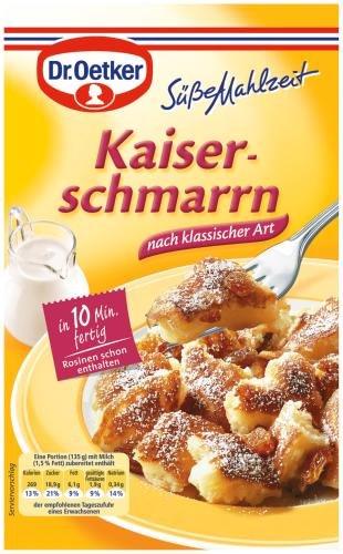 Dr. Oetker Süße Mahlzeit Kaiserschmarrn, 14er Pack (14 x 150 ml Packung)