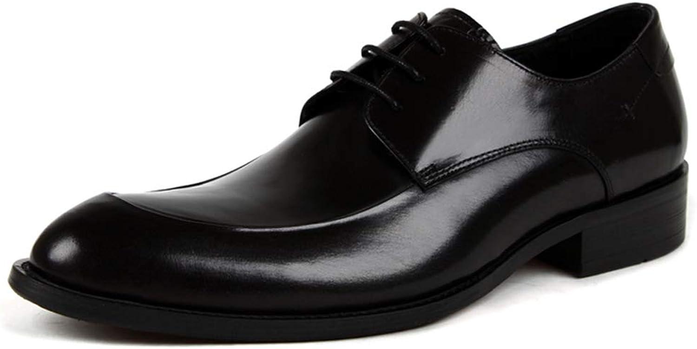 HWF Män's Formal Dress Business Wedding Leather skor, skor, skor, Män's Lace -up skor Points Andable Comfortable Formal skor  gratis frakt över hela världen