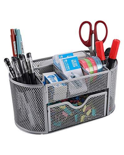 EasyPAG Office Mesh Desk Tidy Versatile Stationery Storage Desktop...