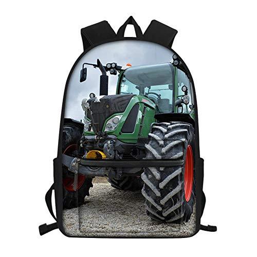impresión Tractores, Agricultura, vehículos de Campo Mochila Escolar, Mochilas de jardín de...