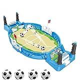 JDYDDSK Mesa de Foosball, Mini Mesa de fútbol para Adultos y niños, Juego de fútbol portátil, Mesa de Foosball, Entretenimiento para Fiestas |,4 balles