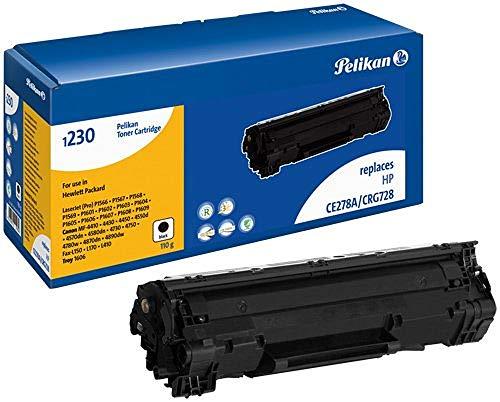 Pelikan 1230 Cartucho de tóner para impresoras Hewlett Packard - Negro