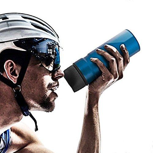 Desconocido générique – Bidon en Aluminium pour Sportifs