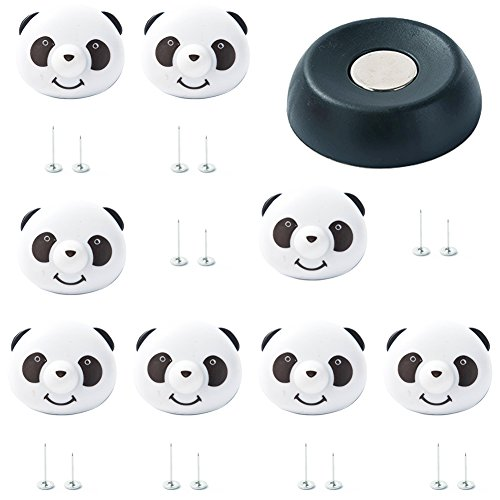 mi ji 1 En Panda Linda Fasteners Hoja de Cama Funda de edredón Magnetic Clips Útil Holder Quilt Corner Guardián Pinza para su casa