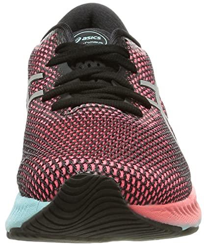 ASICS Gel-Nimbus 23 Lite-Show, Zapatillas de Running Mujer, Black Pure Silver, 38 EU