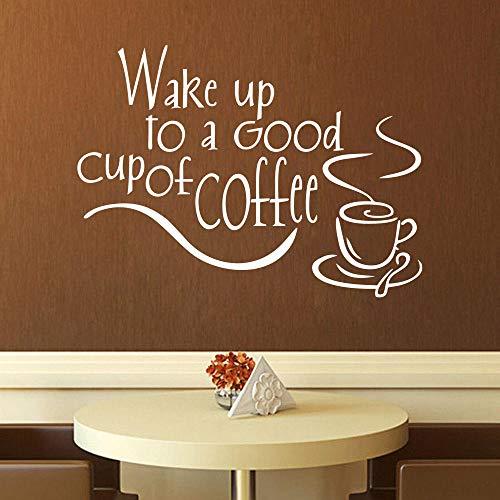 Cooldeer wekker met Engelse muurstickers, gesneden