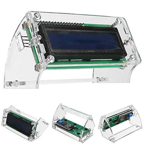 JJBHD Electronic Accessoires & Supplies 10 stücke LCD1602 LCD-Schale for 1602 blau / gelb und i2c 1602 blau / gelb grüner Hintergrundbeleuchtung LCD-Modul-Fall Um Ihnen die Qualität der Exzellenz bere