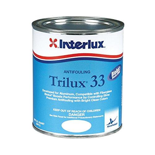 Interlux YBA068/QT Trilux 33 Antifouling Paint - White, Quart