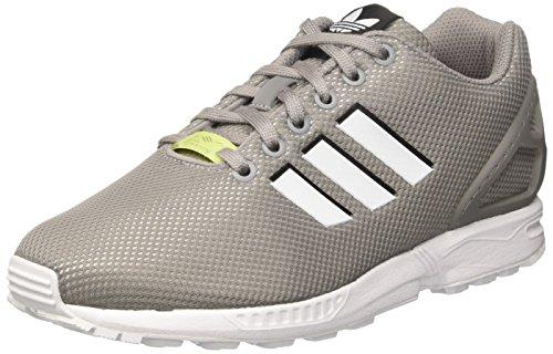 adidas ZX Flux, Scarpe da Corsa Uomo, Multicolore (Ch Solid Grey/Ftwr White/Ice Yellow F16), 40 EU