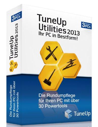 Preisvergleich Produktbild TuneUp Utilities 2013 3-Platz