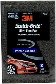 Scotch-Brite 61500195054 37448 Ultra Fine Hand Pad, 6