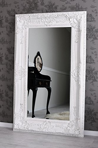 Spiegel XXL Wandspiegel Shabby Chic Weiss Barockspiegel Schloss Deko Palazzo Exklusiv