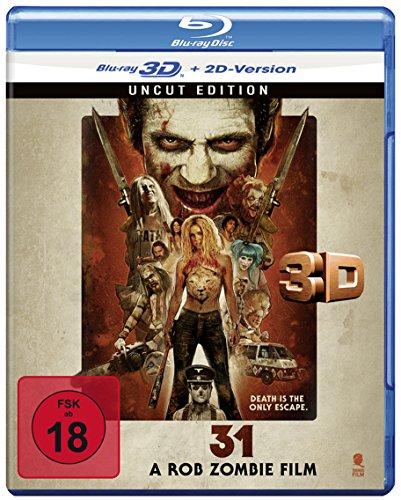 31 - A Rob Zombie Film (Uncut) [3D Blu-ray + 2D Version]