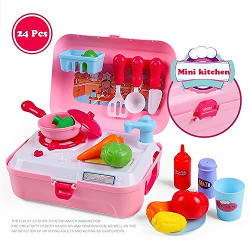 Hzl Giochi di ruolo riutilizzabili Fingi giocattoli Giocattolo per bambini Sviluppo età precoce Educativo Pretend Gioca 19 modelli,6