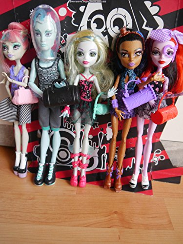 Mattel Monster High - Dance Class, Pack de 5 muñecas
