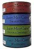 Jake's Mint Chew - 'Minty' Sampler - (4) 1.2oz Cans - Nicotine/Tobacco Free