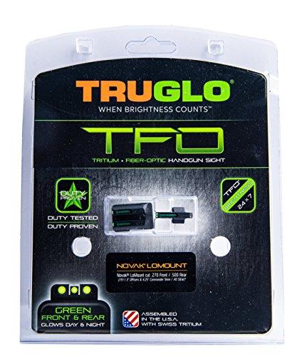 TRUGLO TFO Tritium and Fiber-Optic Handgun Sights for 1911 Pistols