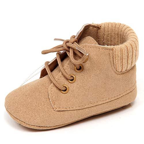 F5352 Scarpe culla Bimbo Boy BABY GRAZIELLA Beige Newborn Shoe