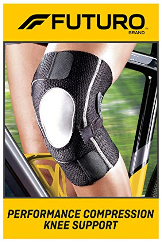 FUTURO Performance Compression Knee Support, Ideal for Everyday Activities, One Size