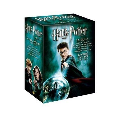 Harry Potter - Jahr 1-5 (5 DVDs/Box-Set) Stein der Weisen, Kammer des Schreckens, Gefangene von Askaban, Feuerkelch, Orden des Phönix