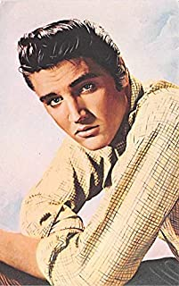 Elvis Presley Movie Star Actor Actress Film Star Postcard, Old Vintage Antique Post Card Unused