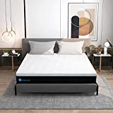 King Mattress, Avenco Memory Foam Mattress King Size, 10 Inch King Size Mattress in a Box, Cooling Gel Foam with Removable and Washable Cover, Medium Firm, Ultimate Supportive, CertiPUR-US & ISPA