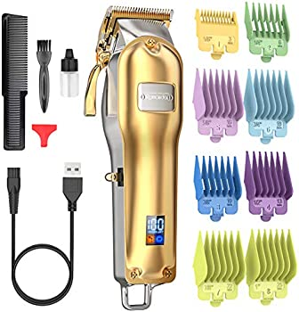 Romanda Cordless Rechargeable Electric Hair Cutting Kit for Mens