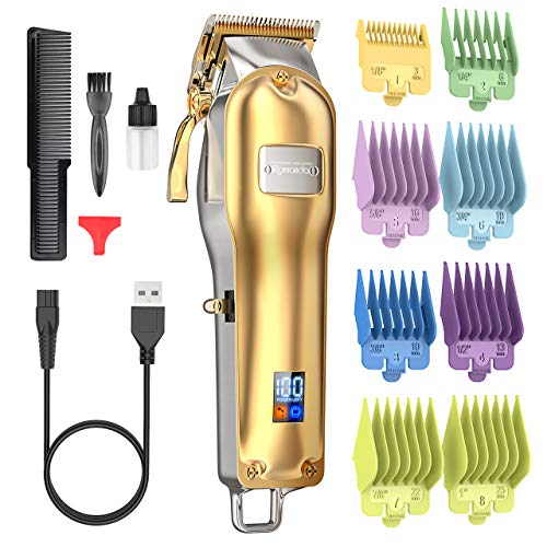 Hair Clippers ,Mens Clippers for Hair Cutting Professional,Cordless Rechargeable Electric Hair...