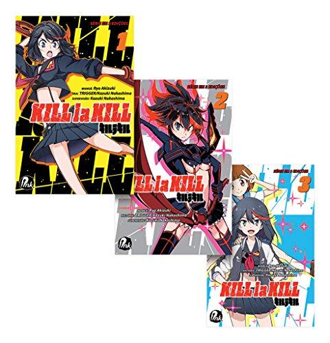 Coleção Kill la Kill - Volumes 1 a 3
