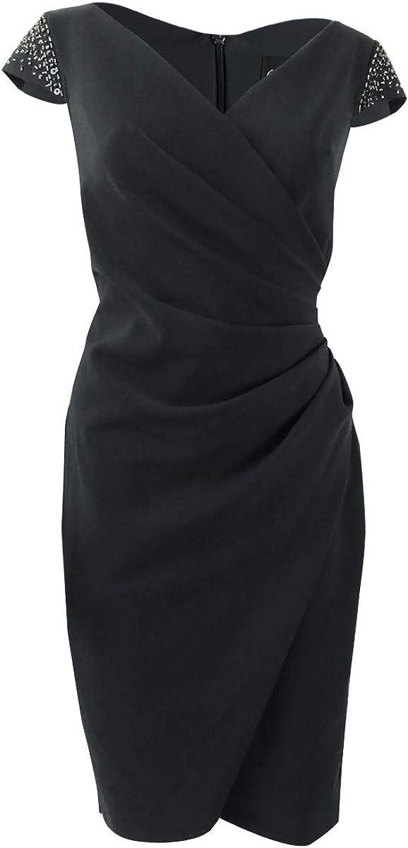 Alex Evenings womens Wrap Dress