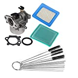 OxoxO Replace carbure Tor Carb Gasket Junta tórica Air Filtro Pre Filtro 4Inch Nylon Cleaning Set for Briggs & Stratton 796707794304799866Air Filter 399959491588491588S 41015043b 119–1909