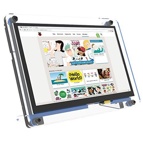 Raspberry Pi Screen 7-Zoll-Touchscreen-Monitor 1024 x 600 HDMI IPS-tragbares Display Laufwerksfrei für Raspbian, IOT, Ubuntu, MAC, Windows 10/8/7, PS4 und Spiele