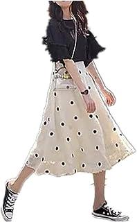 Primavera con traje de dos piezas de primavera francesa primer amor vestido de verano
