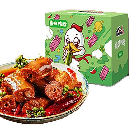 精武麻辣???子400/500g スパイシースナックスナック 休?食品?味零食 中華料理 中華名物 中華食材 麻辣味 (藤椒味400g)