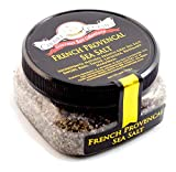 French Provencal Sea Salt - All-Natural French Grey Salt Blended with Savory, Basil, Thyme,...