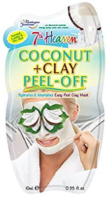 7th Heaven Coconut & Clay Peel-Off Face Mask by Montagne Jeunesse