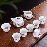 Ksnrang Juego de té de glaseado de Nieve Juego de compañía de Seguros inmobiliarios Regalo publicitario Logotipo Personalizado como Regalo de canje de Puntos-Estilo 3