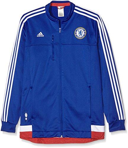 Adidas Veste FC Anthem pour Homme L Bleu - Chelsea Blue/White/Power Red